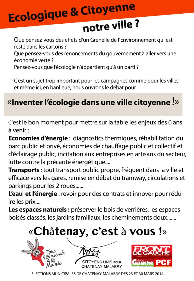 tract ecologie